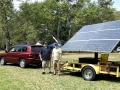 IMG_0025   Solar Panel, with Marc Henley and Robert Frye, owner, 9x5, 90