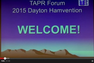 HRN 207 Part 1: TAPR Forum at the 2015 Hamvention on HamRadioNow