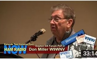 HRN 204: Dayton DX Forum Part 2 – Don Miller W9WNV