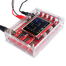 Digital Oscilloscope Kit About $20 and $6 for case. From Ali Express. Bandwidth to 200 KHz and 50 v pt to pt. Order the version with the surface mount parts preattached. Has built in audio test generator and many point to check circuit voltages if you need to troubleshoot.